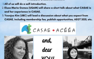 2021 CASAE Graduate Students Network